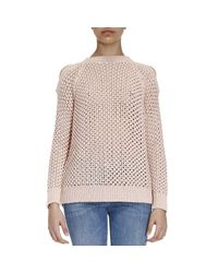 Pinko | Pink Sweater Women | Lyst