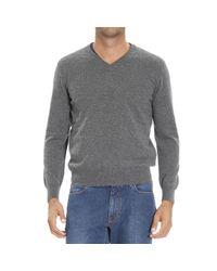 Ermenegildo Zegna - Gray Men's Sweater for Men - Lyst