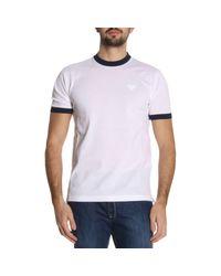 Prada - White T-shirt Men for Men - Lyst