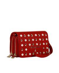 Patrizia Pepe - Red Mini Bag Shoulder Bag Women - Lyst