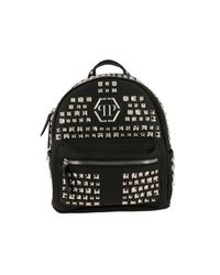Philipp Plein - Black Backpack Shoulder Bag Women - Lyst