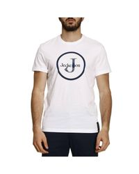 Jeckerson | White T-shirt Men for Men | Lyst