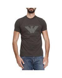 Armani Jeans - Black T-shirt Men for Men - Lyst