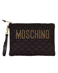 Boutique Moschino - Black Clutch Women - Lyst