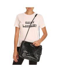 Saint Laurent - Black Crossbody Bags Shoulder Bag Women - Lyst