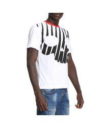 Hydrogen - White T-shirt Men for Men - Lyst