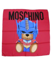 Moschino Couture - Red Neck Scarf Women - Lyst