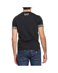 EA7 | Black T-shirt Men Ea7 for Men | Lyst