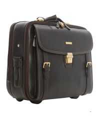 Brooks Brothers - Black Travel Bag Suitcase Man for Men - Lyst