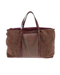 Etro | Brown Shoulder Bag Handbag Women | Lyst