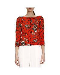 Twin Set - Red Sweater Women - Lyst