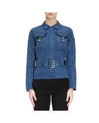 Peuterey | Blue Jacket Women | Lyst