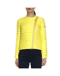 Peuterey | Yellow Down Jacket | Lyst