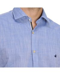 Brooksfield - Blue Shirt Men for Men - Lyst