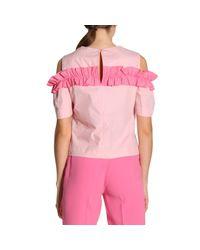 Pinko Pink Top Women