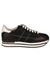 Hogan - Black Sneakers Women - Lyst