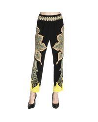 Etro | Black Pants Women | Lyst