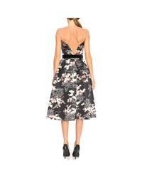Elisabetta Franchi - Black Dress Women - Lyst