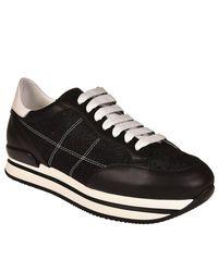 Hogan - Black Sneakers Women - Lyst