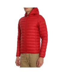 Save The Duck - Red Jacket Men for Men - Lyst