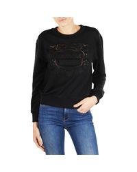 Boutique Moschino - Black Sweatshirt Women - Lyst