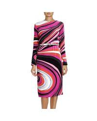 Emilio Pucci - Multicolor Dress Women - Lyst