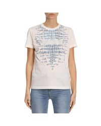 Just Cavalli - White T-shirt Women - Lyst
