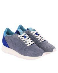 Mizuno Blue Sneakers Shoes Women