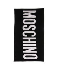 Boutique Moschino - Black Beach Towel Women - Lyst