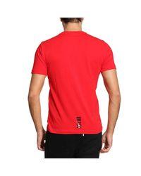 EA7   Red T-shirt Men Ea7 for Men   Lyst