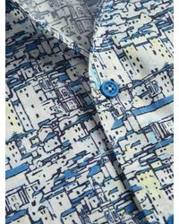 Orlebar Brown - Blue Pelham Short Sleeve Sportshirt for Men - Lyst