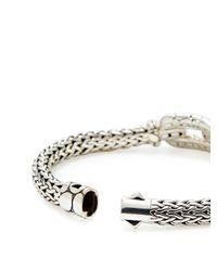 John Hardy - Metallic Kali Black Sapphire Oval Link Bracelet - Lyst