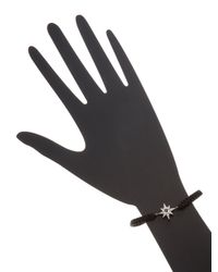 Anzie - Boheme Black Macrame Starburst Bracelet - Lyst