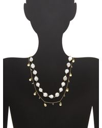 Alanna Bess Jewelry Metallic Gold Clasp Necklace