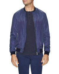 459bac77b Lyst - J.Lindeberg Thom 65 Bomber Jacket in Blue for Men