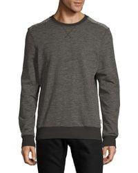 2xist - Gray Heathered Crewneck Sweatshirt for Men - Lyst
