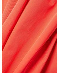 Carolina Herrera - Red Wide-leg Pants - Lyst