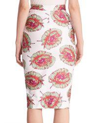 Altuzarra - Multicolor Wilcox Floral-print Pencil Skirt - Lyst