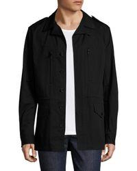 IRO - Black Milal Cotton Jacket for Men - Lyst