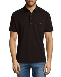 Ralph Lauren - Black Short Sleeve Cotton Polo for Men - Lyst