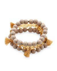 Alanna Bess Jewelry Multicolor Beaded Friendship Bracelet