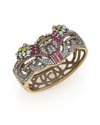 Heidi Daus - Metallic Burst Of Bling Swarovski Crystal Bracelet - Lyst