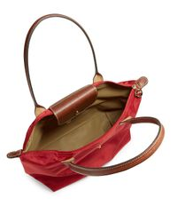 Longchamp - Red Le Pliage Large Tote - Lyst