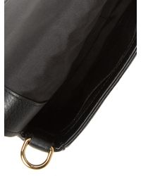 Marc Jacobs Black Empire City Leather Saddle Bag