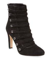 Karl Lagerfeld - Black Gillian High Heel Bootie - Lyst