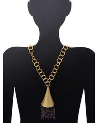 Stephanie Kantis - Metallic Celebration Pendant Necklace - Lyst