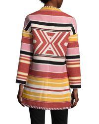 Rebecca Minkoff Multicolor Kahlo Coat