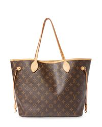 Louis Vuitton - Brown Vintage Monogram Ab Neverfull Mm Tote - Lyst