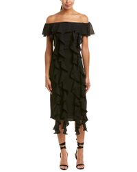 C/meo Collective Black Dream State Dress