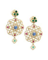 Temple St. Clair - Metallic Mosaic Earrings - Lyst